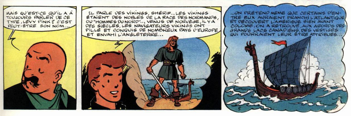 Chick Bill, La Peur bleue, Vikings