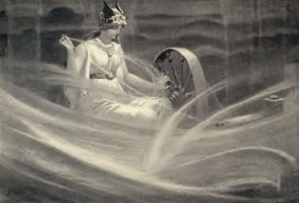 Dollmann Frigga spinning the clouds