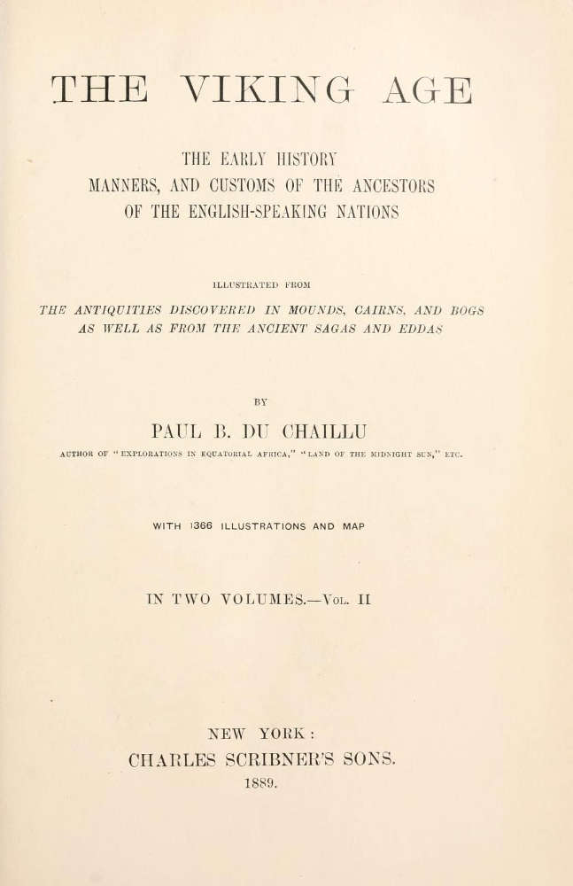 Couverture de The Viking Age de Paul B. du Chaillu