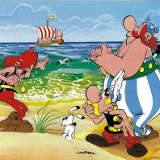 Goscinny Uderzo Asterix et les Normands couverture
