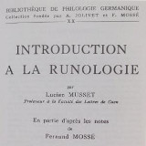 Musset, Introduction à la runologie