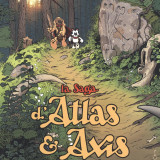 Saga d'Atlas et Axis, couverture